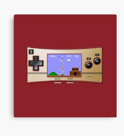 Gameboy Micro Classic Canvas Print