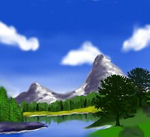Digital Landscape by Ghelly
