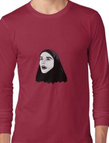 Vampire Girl Long Sleeve T-Shirt