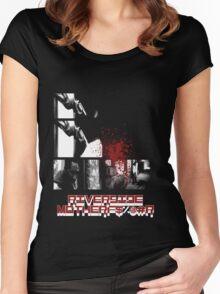 Riverside MotherFucker!!!! Women's Fitted Scoop T-Shirt