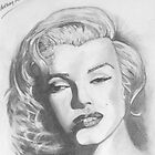 Marilyn Monroe  by Anthony Mitchell