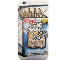 POP TART CIGARETTES iPhone Case/Skin