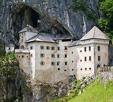 Predjama Castle by Knedl