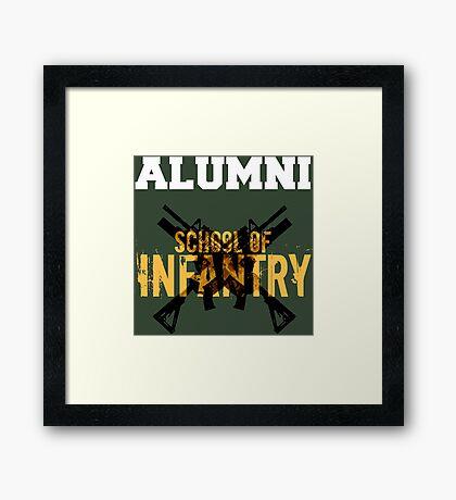 School of Infantry Alumni Framed Print