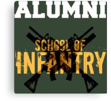 School of Infantry Alumni Canvas Print