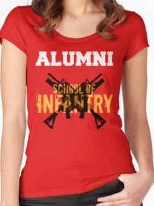 School of Infantry Alumni Women's Fitted Scoop T-Shirt