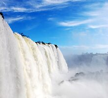 Igusau Falls - Devils Throat by David Towey