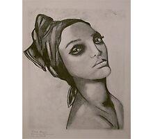 Tyra Banks Anthony Mitchell Photographic Print