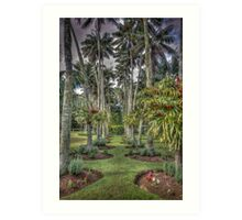Island Garden  Art Print