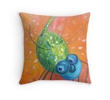 Dragonfly Dancing Throw Pillow