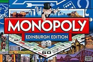 My Published Work - Monopoly 2010 Edinburgh Version by Chris Clark