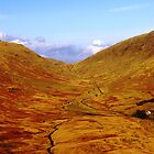 Hardknott Pass by Ciaran O'Hagan