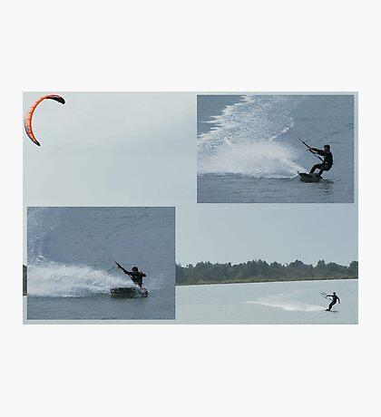 Paraboarding Photographic Print