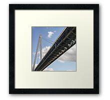 Batman Bridge Framed Print
