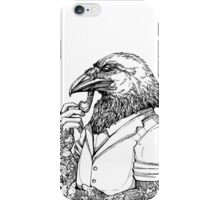 The Crow Man iPhone Case/Skin