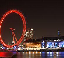London Eye by Robert Worth