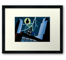 Batnyu's adventure Framed Print