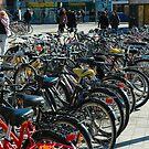 "City Life - ""Bikes Parking"" by Denis Molodkin"