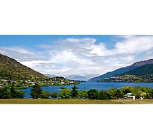 Queenstown From Frankton Photographic Print