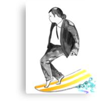John SirVolta (surf-ol-ta) Canvas Print