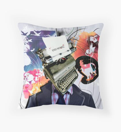 End Novel Throw Pillow