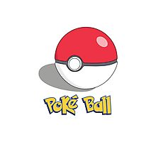The Poké Ball Photographic Print