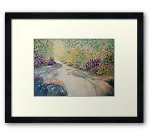 Healing Water Framed Print