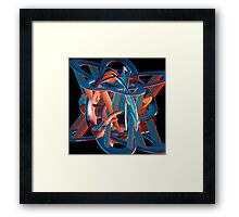 Impossible constructions Framed Print