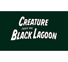 the creature from the black lagoon Photographic Print