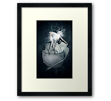Rose fairy Framed Print