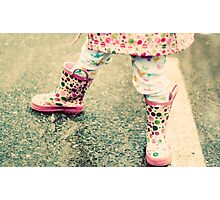 {rainboots} Photographic Print