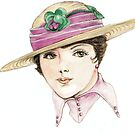 Vintage 1920`s hats by morgansartworld