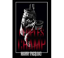 Peoples Champ - Manny Pacquiao Photographic Print