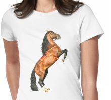 Andalusian Stallion Womens Fitted T-Shirt