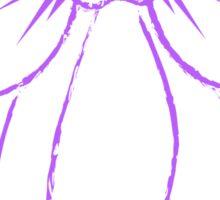 Purple Bow Sticker