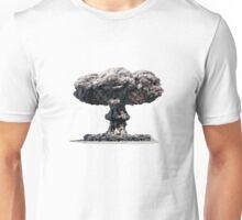Clown Head Nuclear Mushroom Cloud Unisex T-Shirt