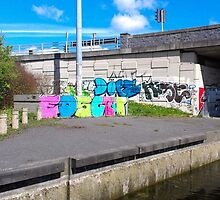 Street Art: The Colours of Dublin, Ireland by shoelock