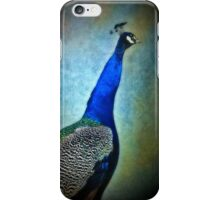 Peacock Blue iPhone Case/Skin