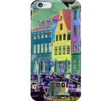 Copenhagen. Nyhavn Colors iPhone Case/Skin