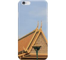 Golden Buddha, The Royal Palace, Phnom Penh, Cambodia iPhone Case/Skin
