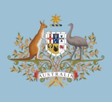 Australian Coat of Arms One Piece - Short Sleeve