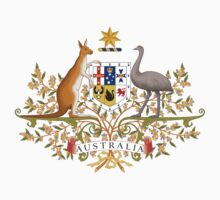 Australian Coat of Arms Kids Clothes