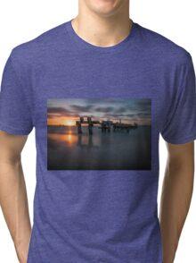Turquoise Coast Sun Set Tri-blend T-Shirt