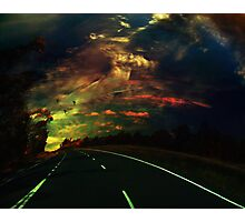 The lost highway Photographic Print