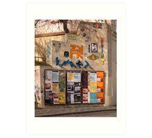 Colourful Building (Prague) Art Print