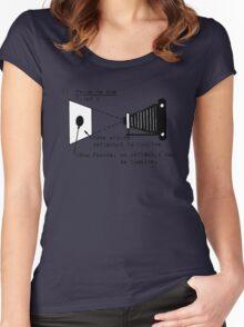la prise de vue Women's Fitted Scoop T-Shirt