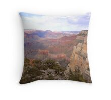 Grand Canyon Pastels Throw Pillow