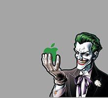 joker loves apple by punturex