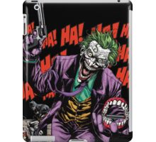 joker vs batman iPad Case/Skin