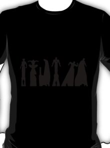 black superheroes T-Shirt